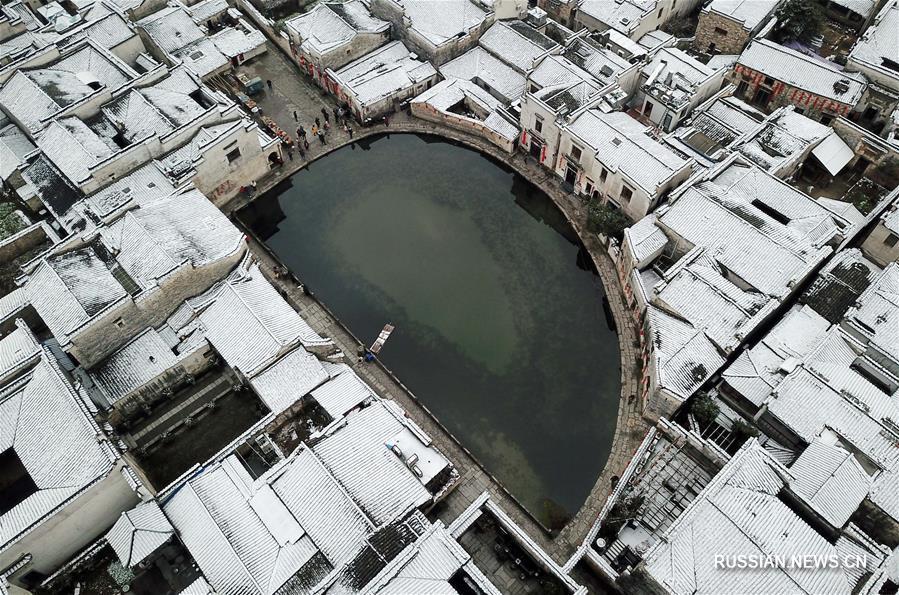 Юг Китая в снежном убранстве