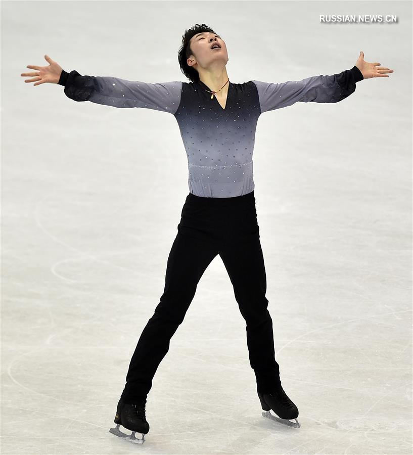 Китайский спортсмен Цзинь Боян завоевал золото турнира четырех континентов