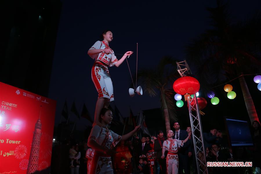 В Каире прошел концерт по случаю китайского праздника Весны