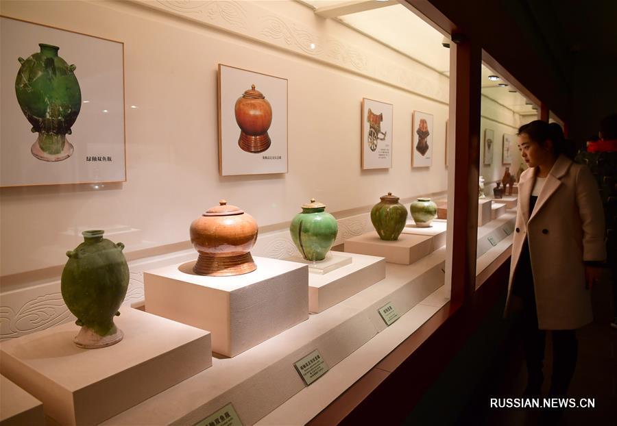 В провинции Шэньси активно развивается производство яочжоуского фарфора