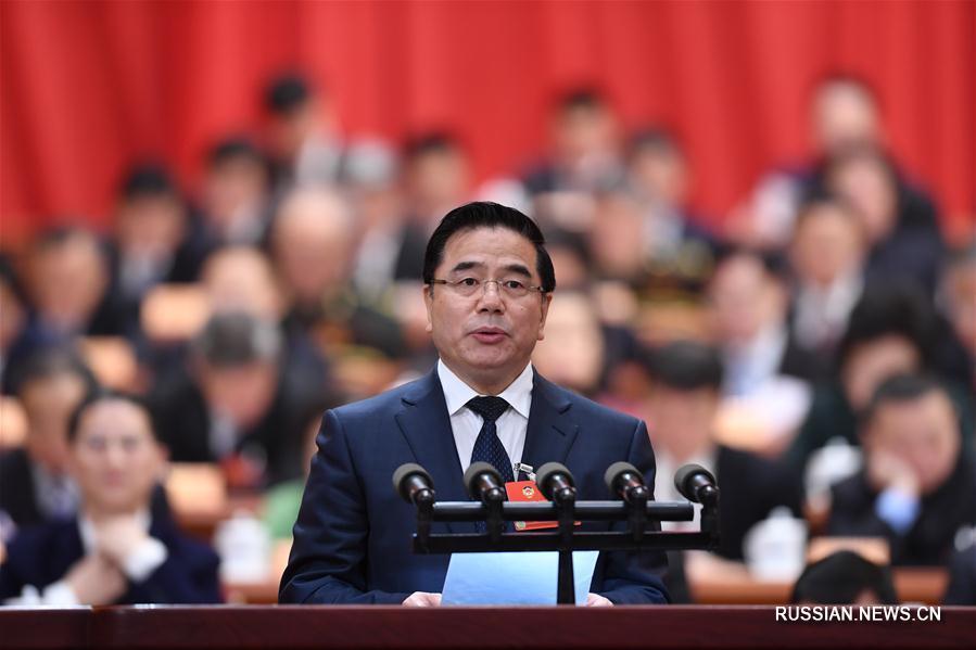 В Пекине прошло второе пленарное заседание 1-й сессии ВК НПКСК 13-го созыва