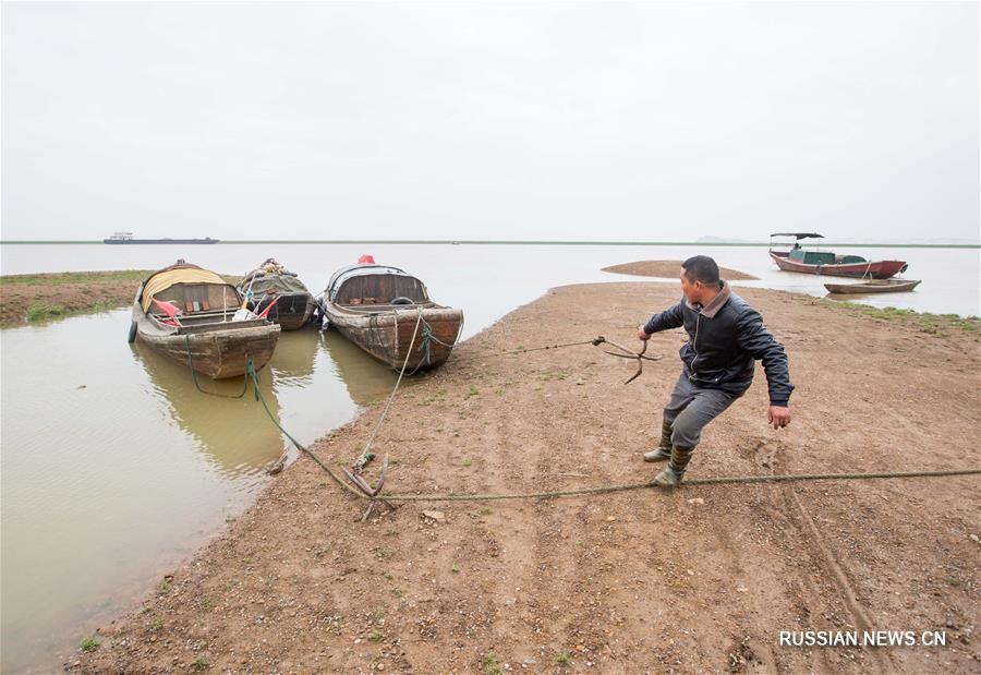 #(经济)(1)鄱阳湖进入第17个春季禁渔期
