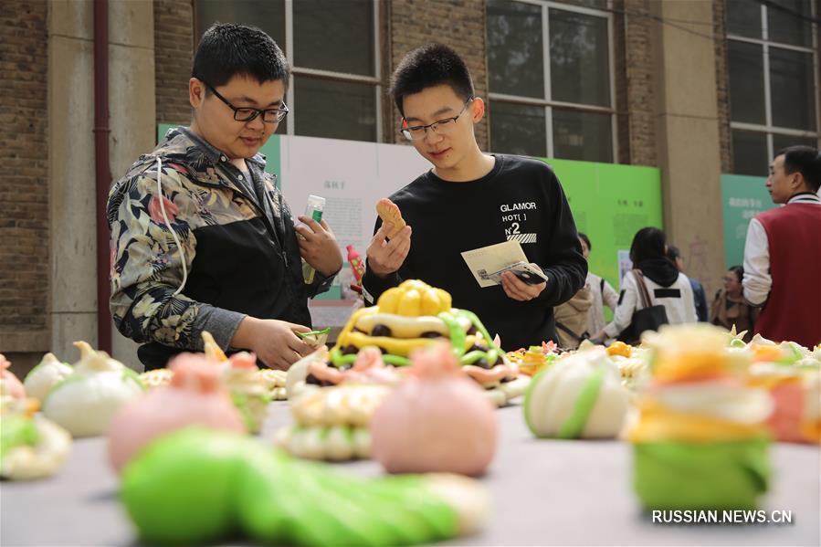 Культурные мероприятия по случаю праздников Ханьши и Цинмин в Тяньцзиньском университете