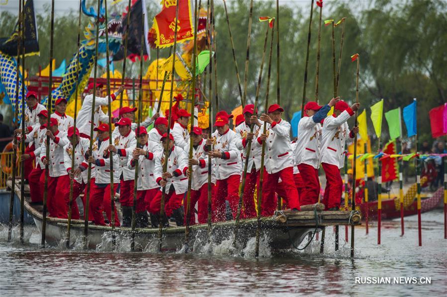 Лодочный фестиваль в провинции Цзянсу