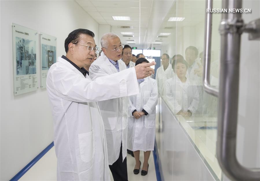 Ли Кэцян совершил инспекционную поездку в Шанхай