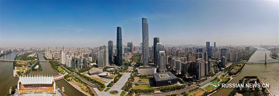 Гуанчжоу -- город цветов