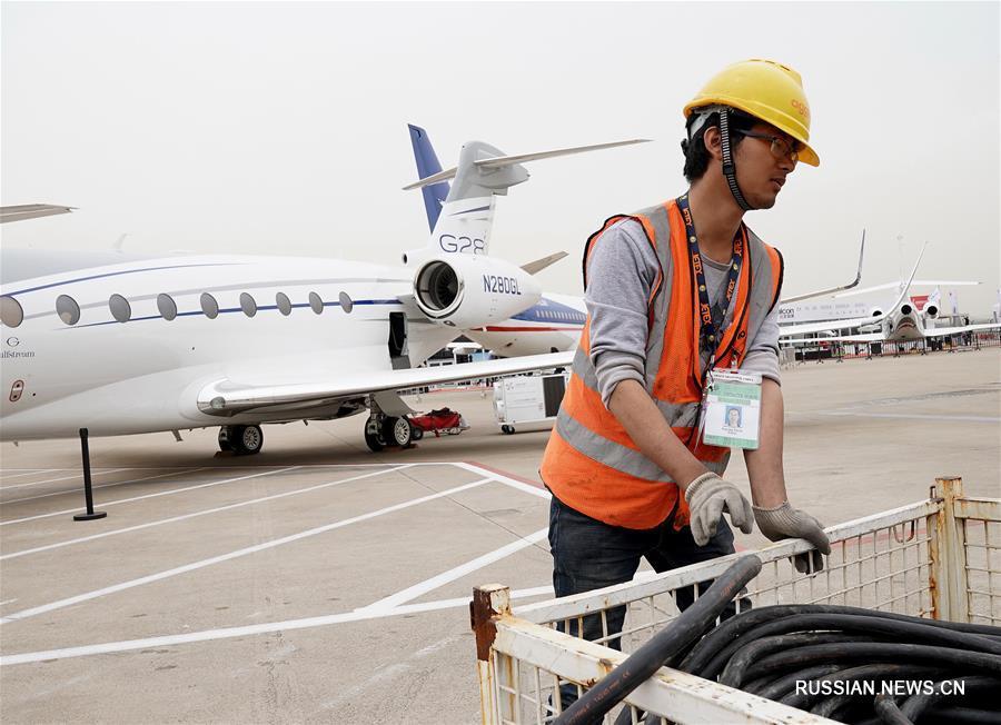 В Шанхае открывается 7-я Азиатская конференция-выставка служебной авиации