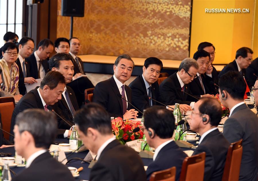 В Токио состоялся 4-й Китайско-японский экономический диалог на высоком уровне