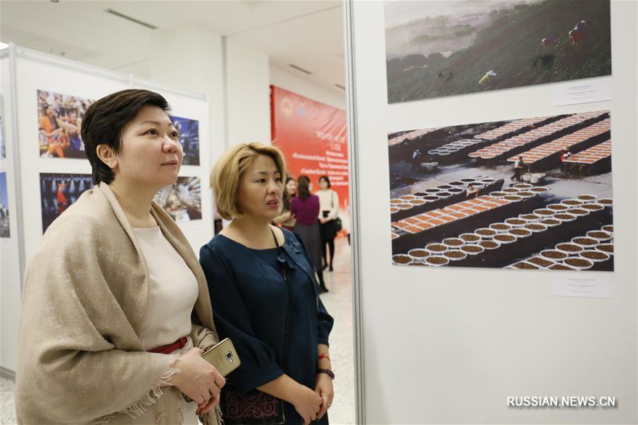 """В Астане открылась фотовыставка """"Великолепный Китай. Привлекательные места Поднебесной"""""""