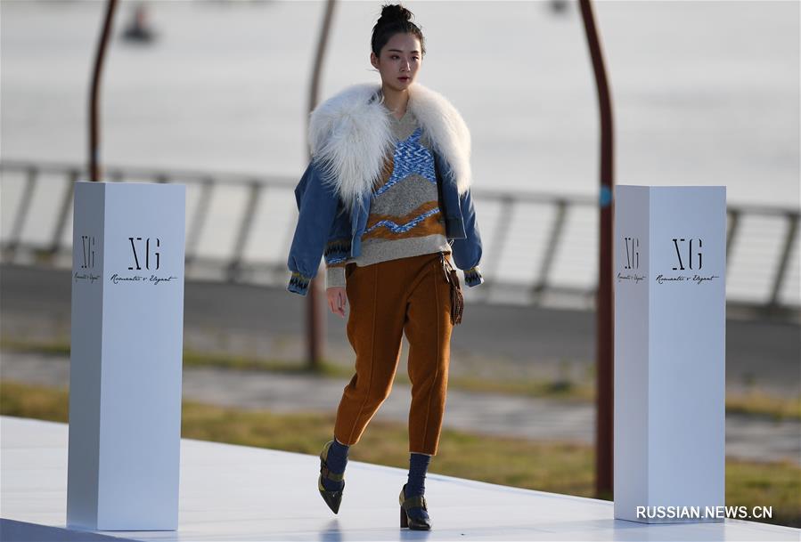 В Нанкине прошла презентация новой коллекции зимней одежды от китайского бренда XG