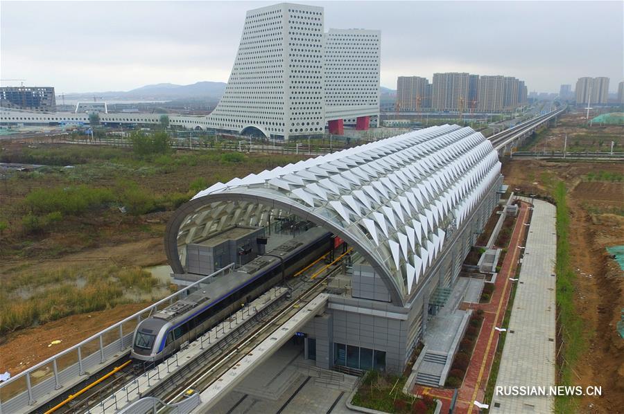 В городе-хозяине саммита ШОС 2018 открылась новая линия метро