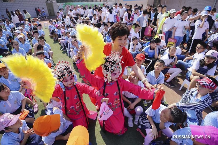 В регионах Китая прошли мероприятия, посвященные Международному дню защиты детей
