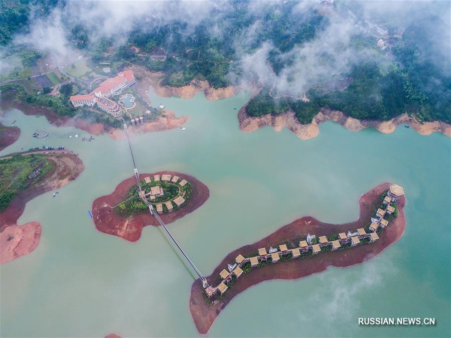 """Ландшафтные парки с """"нулевыми выбросами"""" в уезде Юньхэ"""