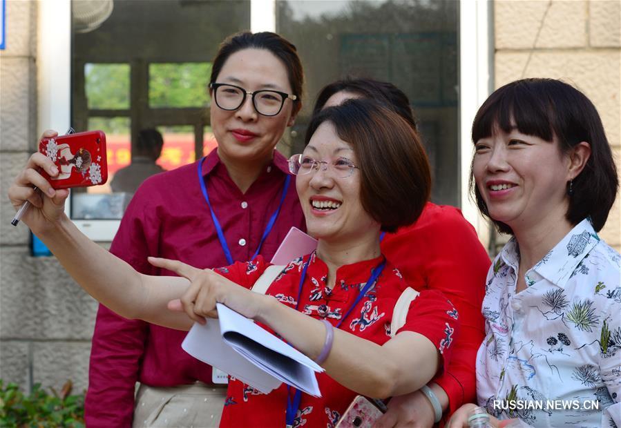"""В Китае начались госэкзамены """"гаокао"""""""