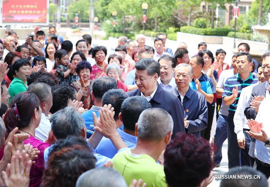 Си Цзиньпин совершил инспекционную поездку в Циндао