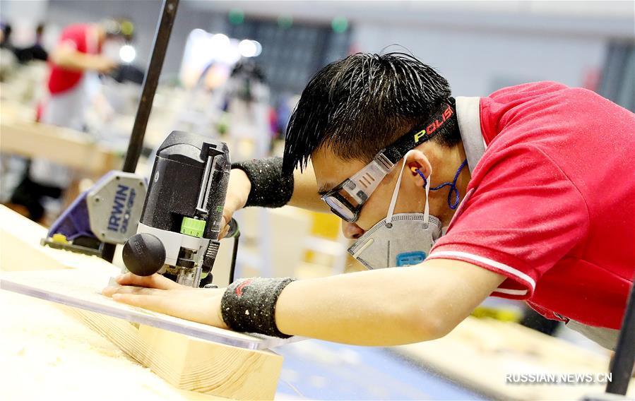 В Шанхае проходит отборочный этап 45-го Всемирного конкурса мастеров