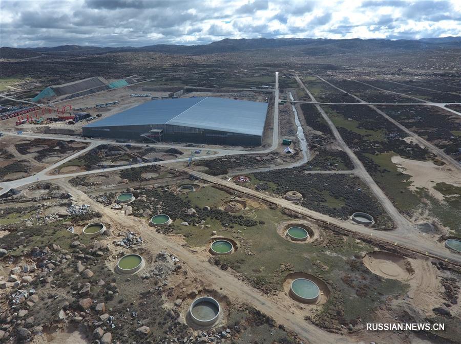 Продолжается строительство большой высокогорной обсерватории для исследования космических лучей в провинции Сычуань