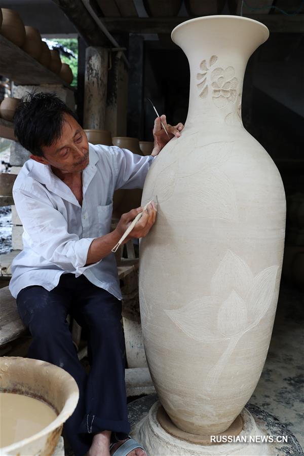 Тысячелетнее искусство шицзитоской керамики