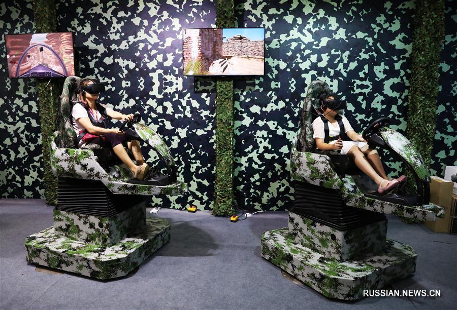В Чунцине проходит 9-я международная ярмарка техники военно-гражданского назначения