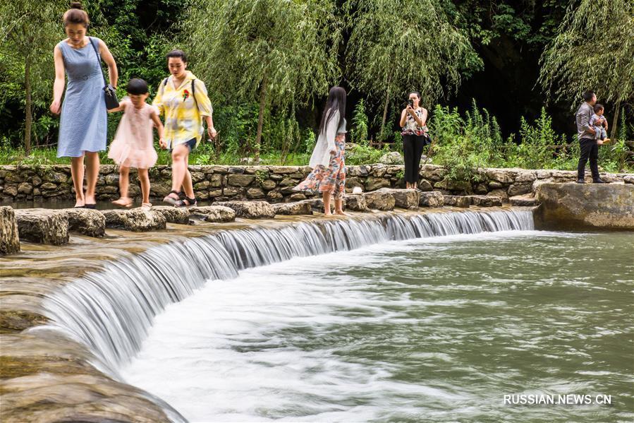 """Летний парк экологичного земледелия """"Уси"""" в провинции Гуйчжоу"""