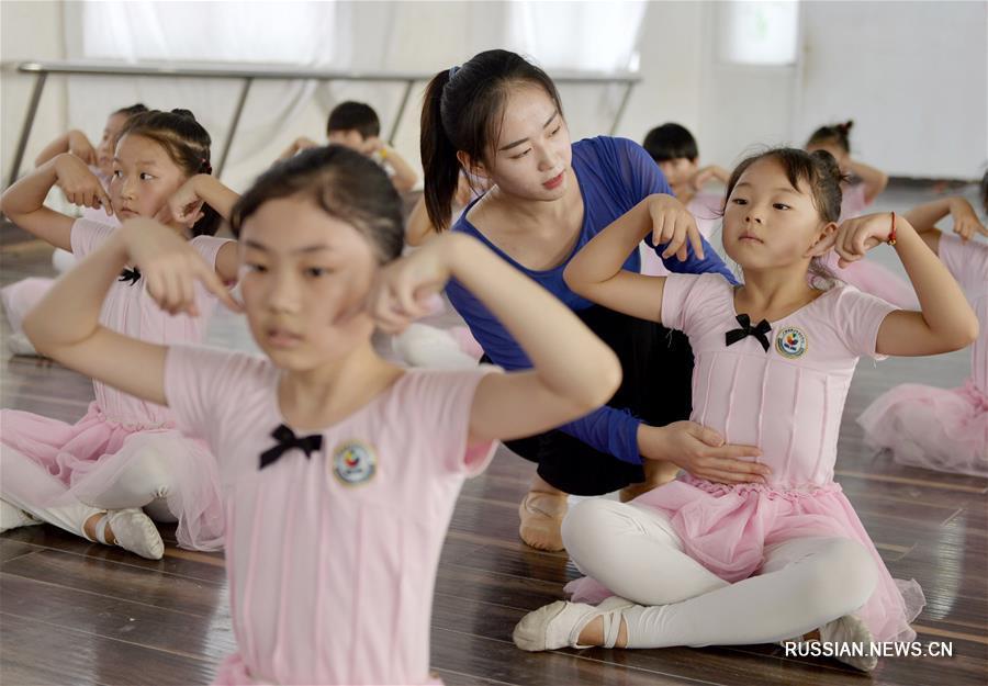 Танцевальная школа в провинции Хэбэй