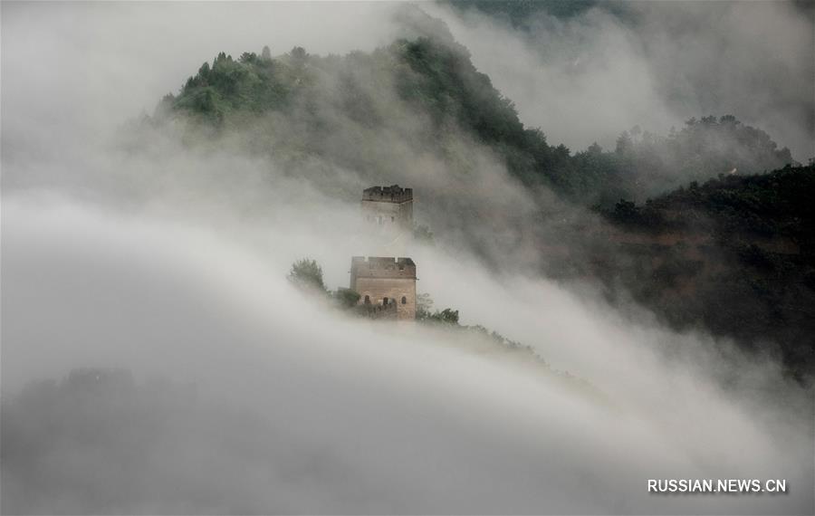 Туман над заставой Хуанъягуань