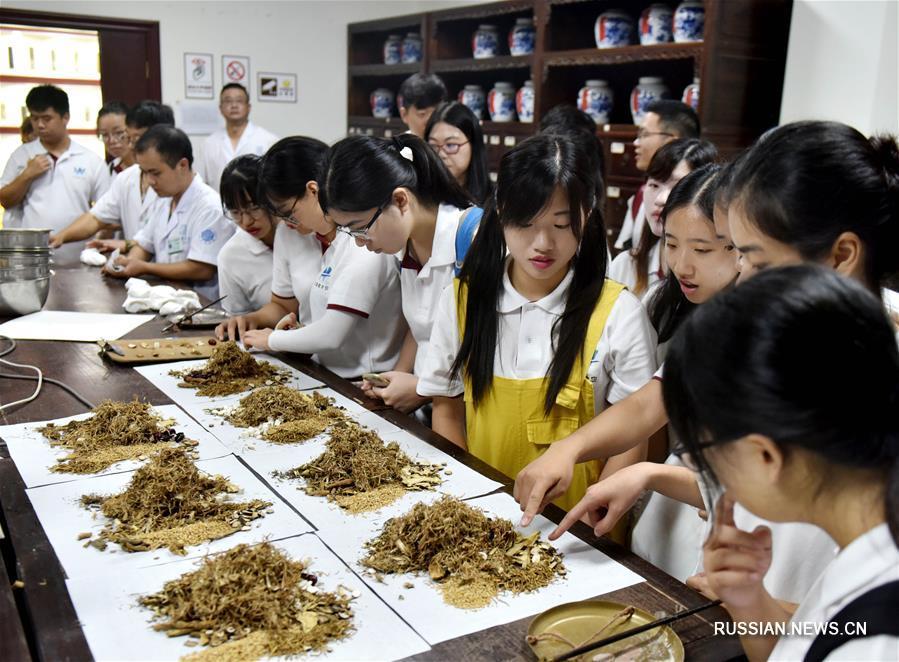Практика студентов медицинских факультетов Сянгана в клинике традиционной китайской медицины
