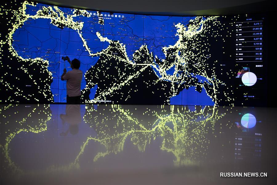 Через Шанхайское единое окно международной торговли проходит около трети всех импортно-экспортных операций в Китае