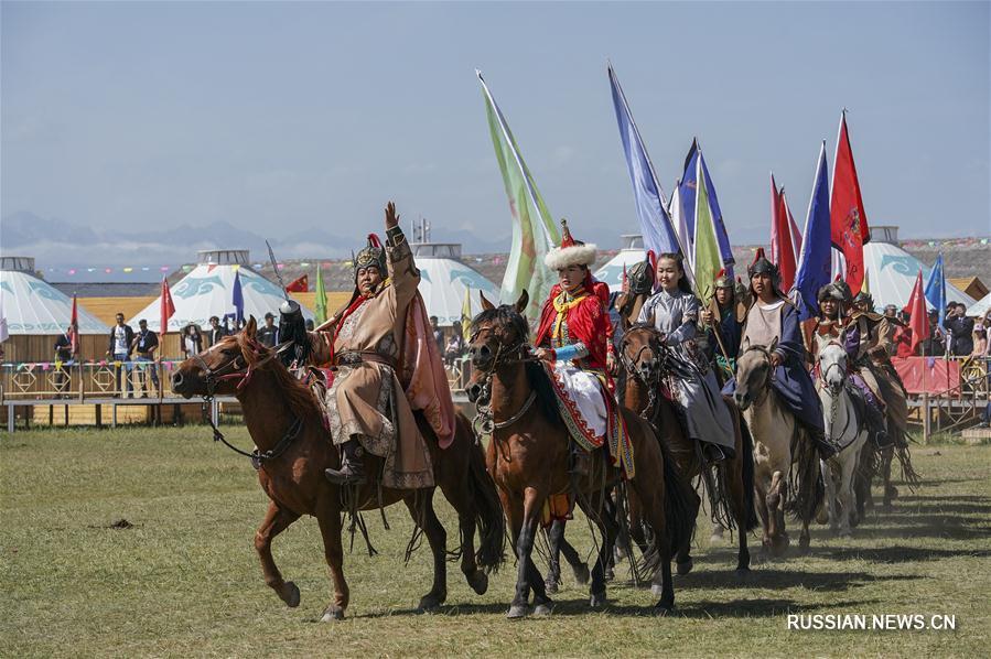 Традиционный праздник Наадам в Синьцзян-Уйгурском АР