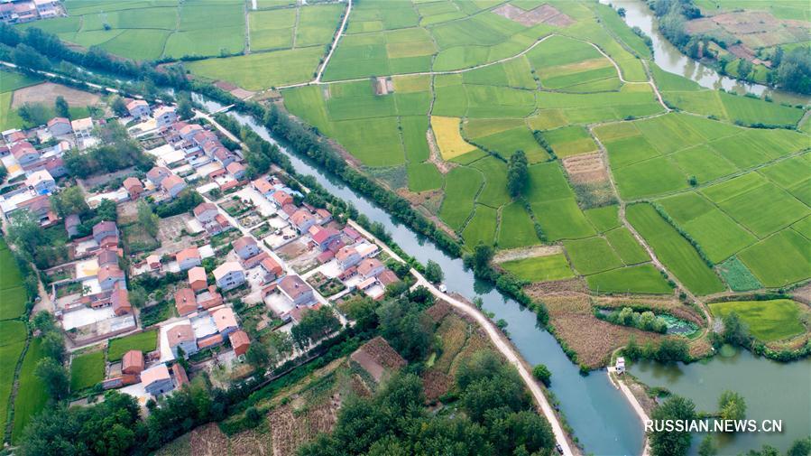 Канал Чанцюй в провинции Хубэй был внесен в список Всемирного наследия ирригационных сооружений