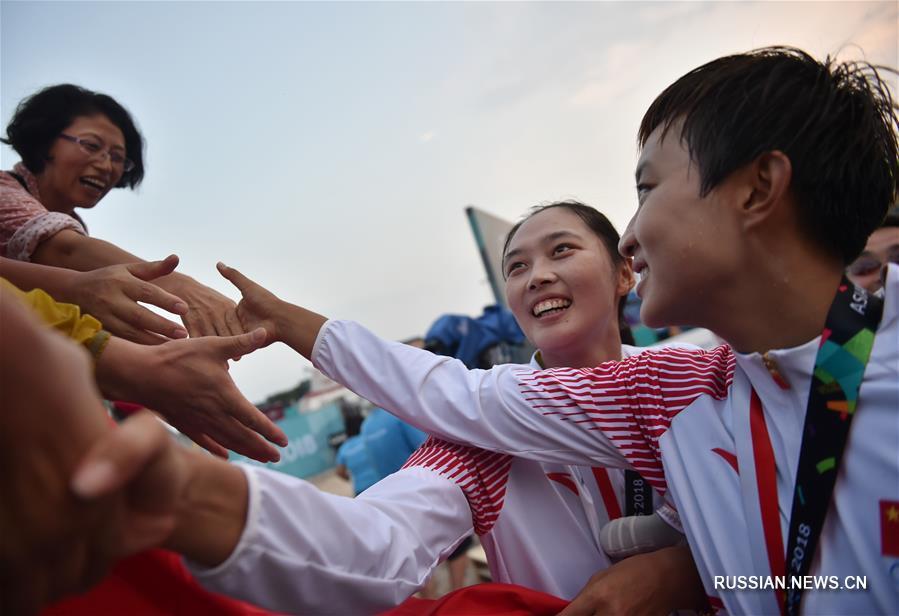 Пляжный волейбол на Азиатских играх: женская сборная Китая стала чемпионом