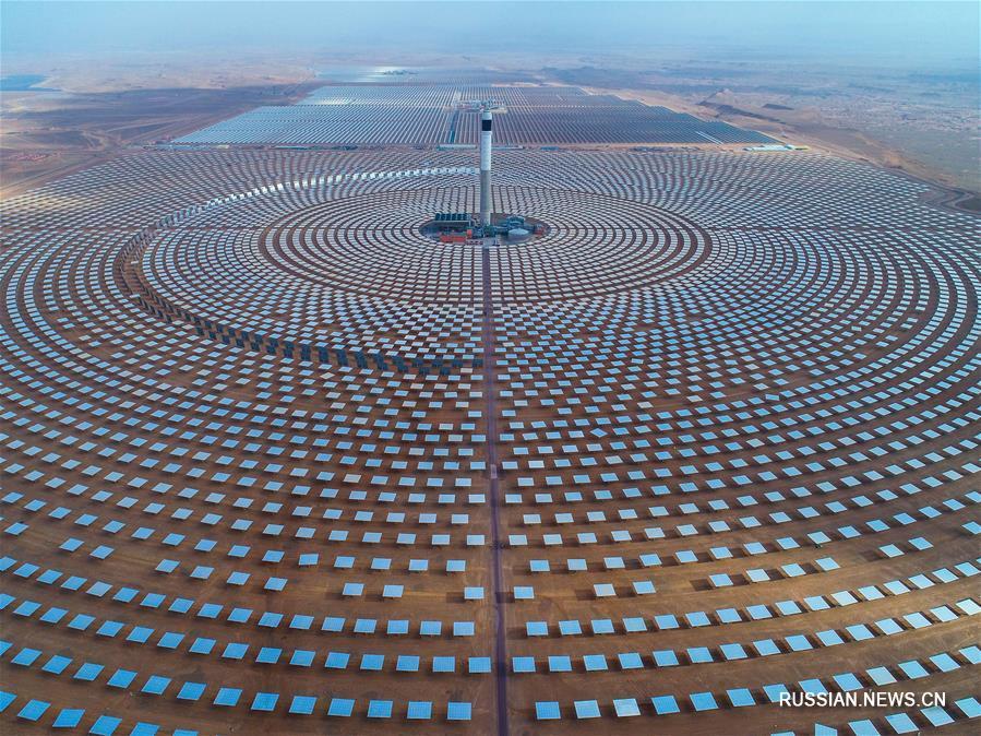 Китай помогает Марокко построить крупнейшую ГеТЭС в мире