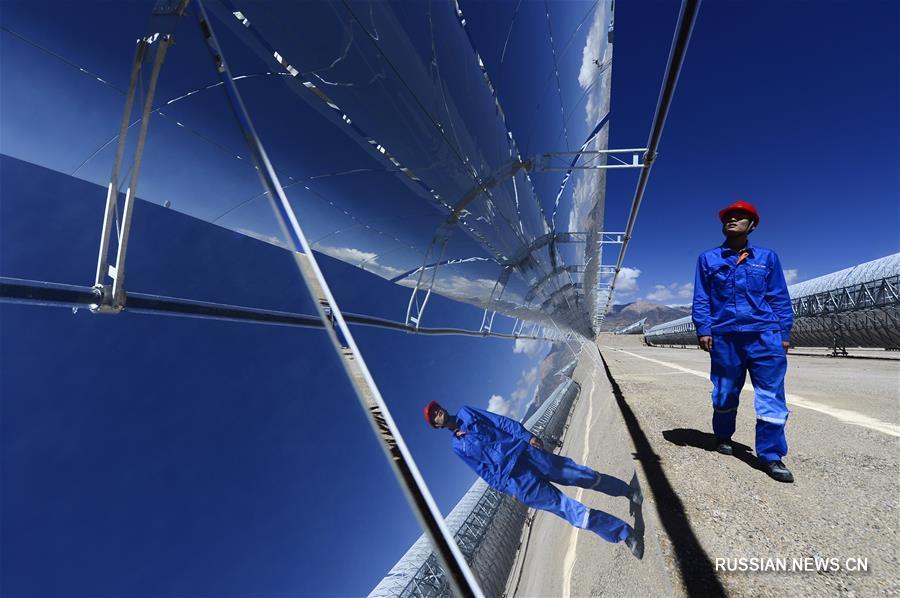 В провинции Цинхай ускоряется развитие новой энергетики