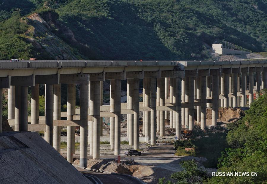 Завершен основной этап строительства скоростного шоссе Синлункоу -- Яньцин