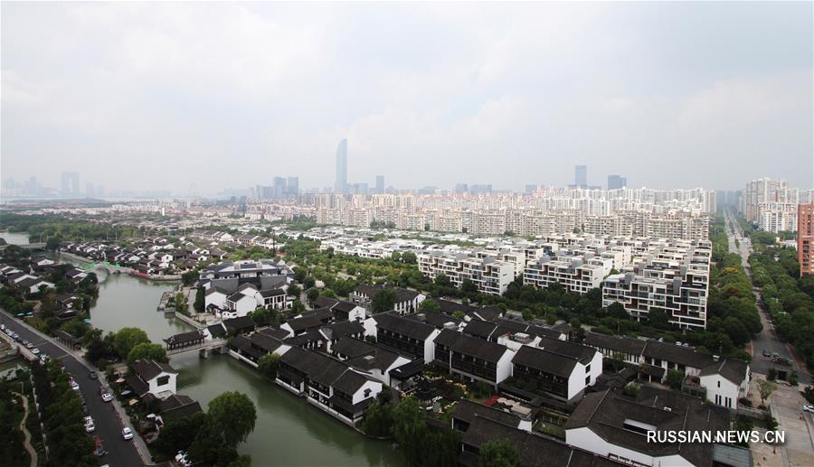 Яркий пример успеха китайско-сингапурского сотрудничества -- Индустриальный парк Сучжоу