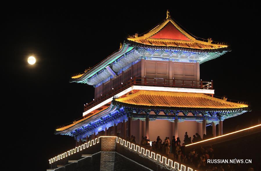 Древний городок Чжэндин в провинции Хэбэй