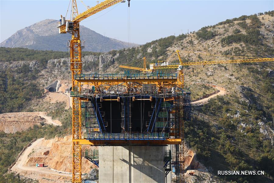 Строительство первой в Черногории скоростной автомагистрали