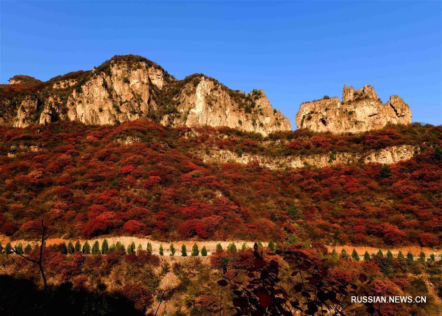 Октябрь в уезде Пиншань