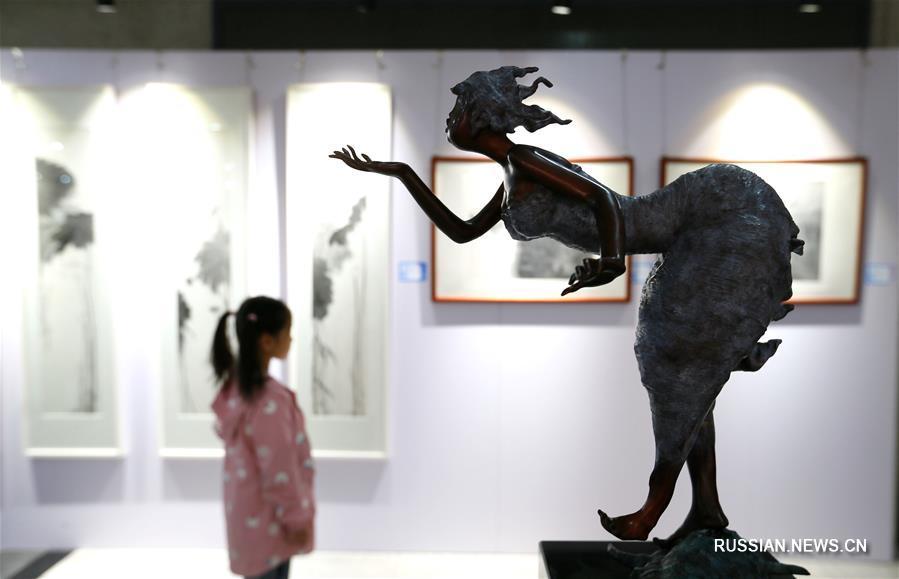 Открылась Всекитайская студенческая художественная выставка 2018 года