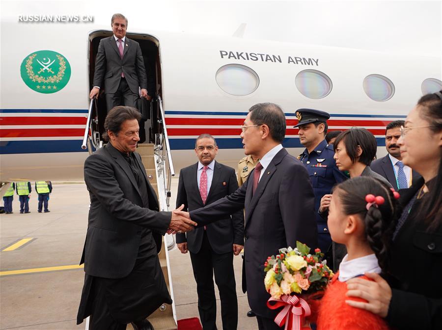 Премьер-министр Пекистана прибыл в Шанхай