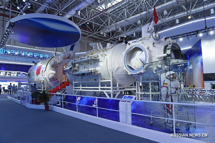 Китай впервые представил макет базового модуля перспективной космической станции