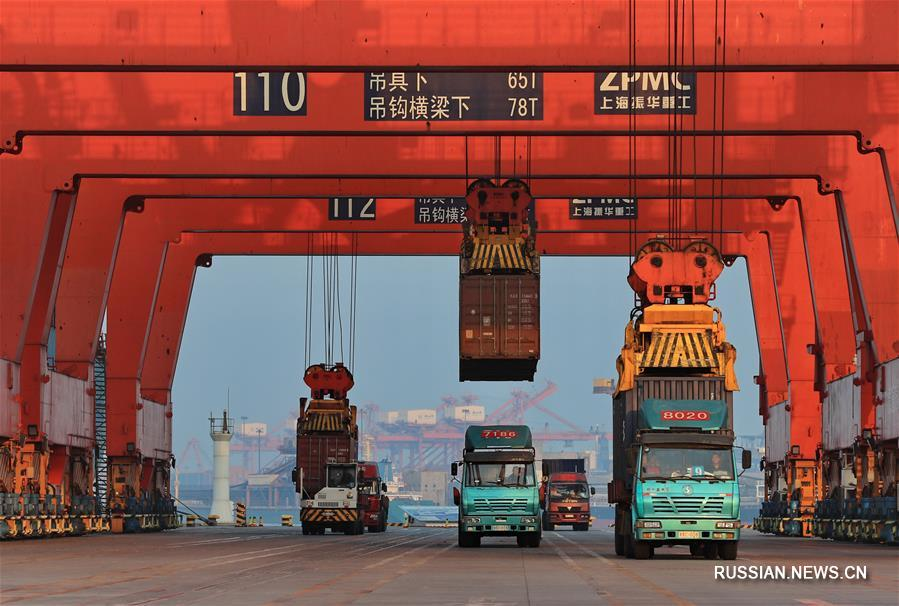 Порт Цзинтан в городе Таншань продемонстрировал отличные показатели за первые десять месяцев года