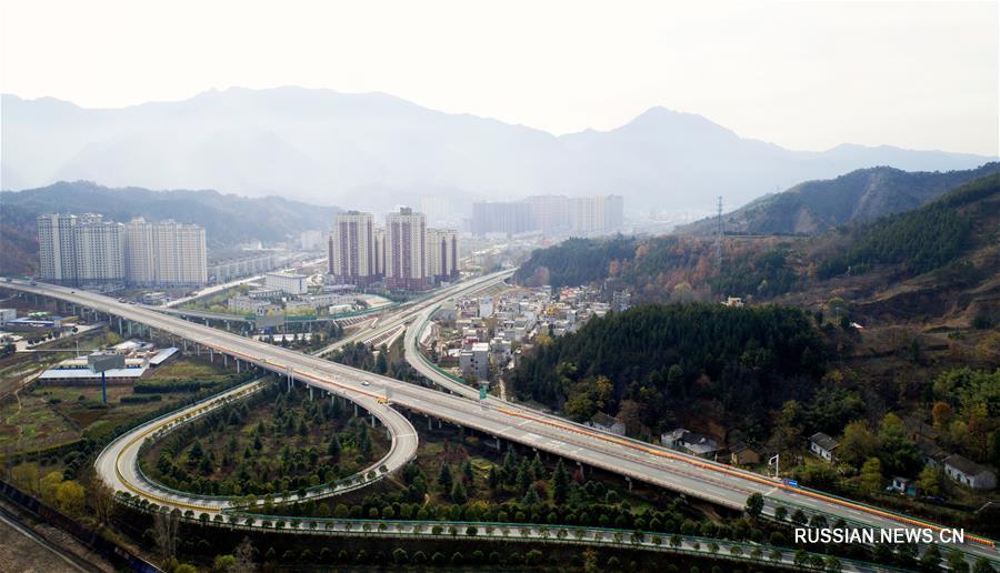 В ближайшее время откроется движение по скоростному шоссе Чжашуй -- Шаньян