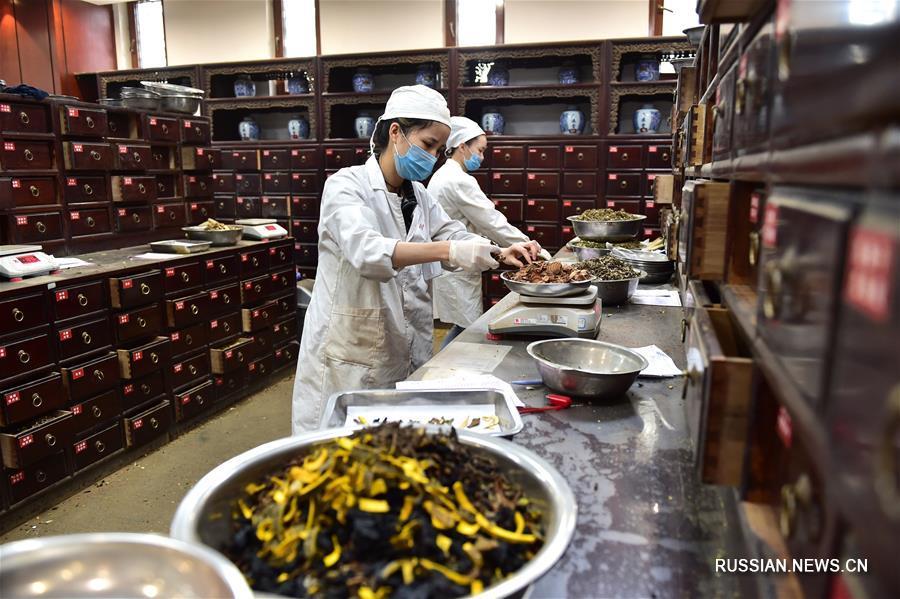 Производство лекарственной пасты гаофан в Иу