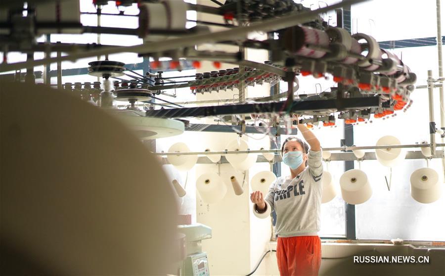 Модернизация швейной промышленности в районе Циншаньху провинции Цзянси