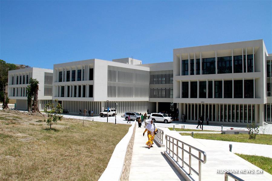Китай помог Танзании построить университетскую библиотеку