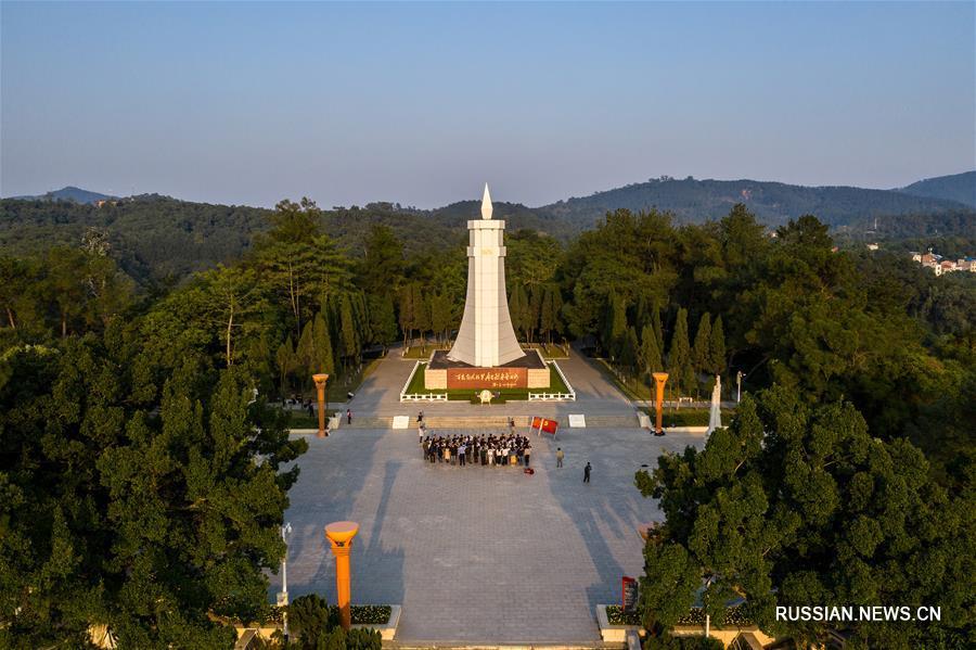 Китайский город Байсэ на юге Китая