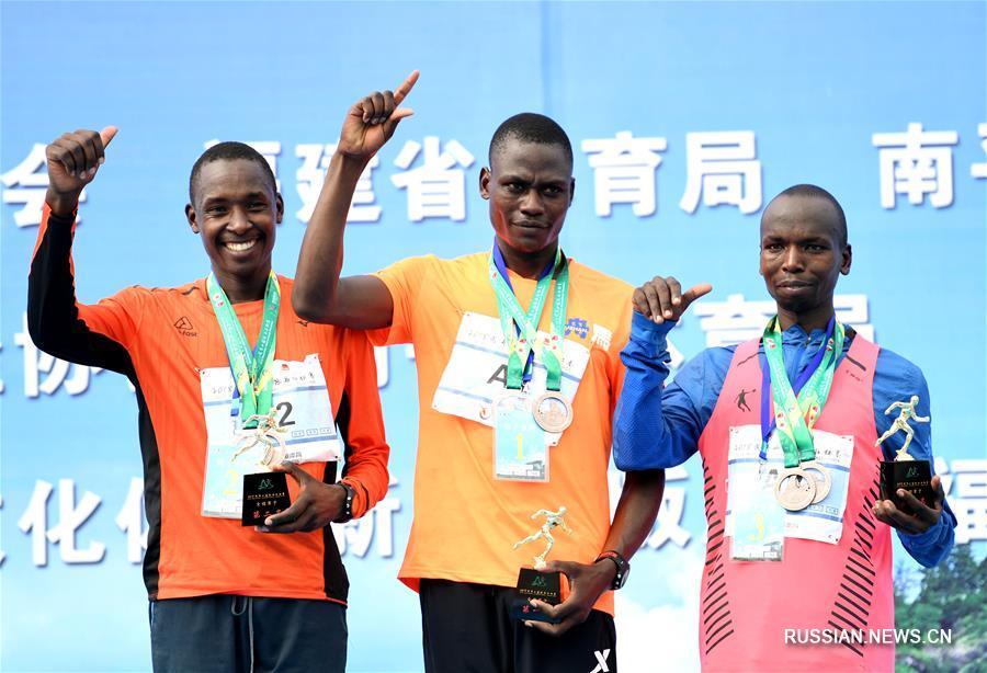 В Китае прошел международный марафон Уишань-2018
