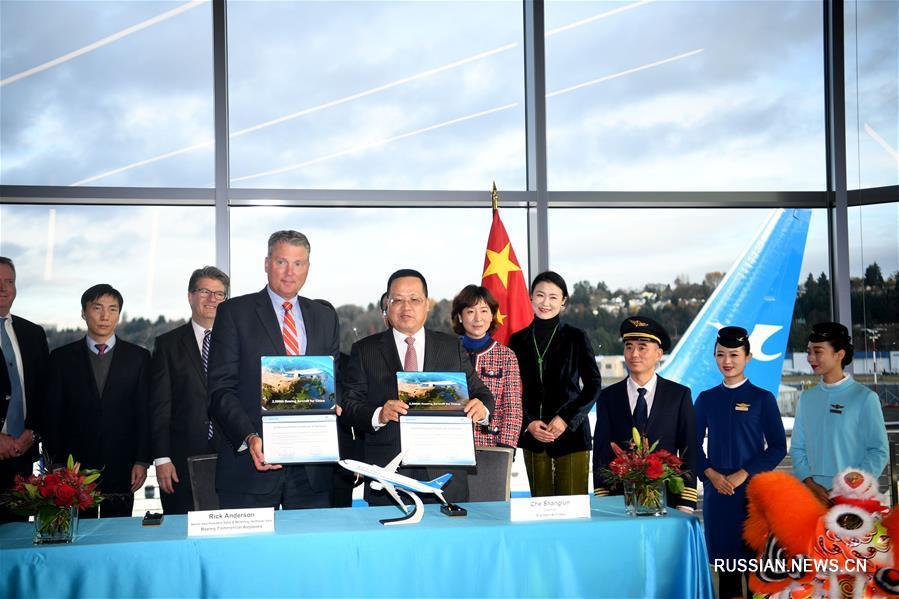 """Корпорация """"Боинг"""" поставила в Китай 2000-й лайнер"""