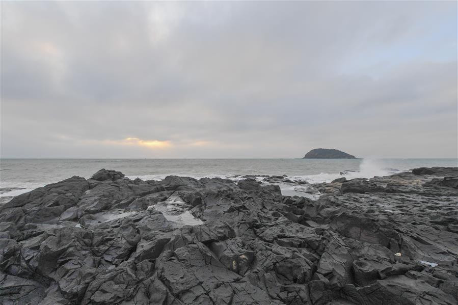 Прибрежный геолого-вулканический парк в уезде Чжанпу